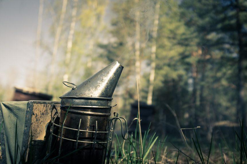 Rökpust biodling, fotograf Mats Andersson, Stenhamra