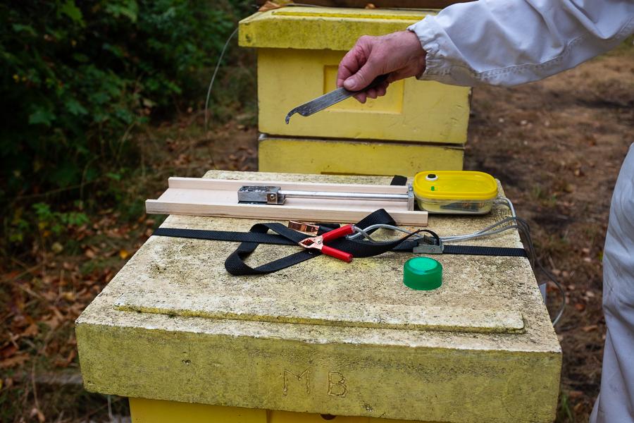 Biodlarmöte med Mälaröarnas biodlarförening vid Ekebyhovs slott. Foto: Mats Andersson, www.bubbelbubbel.se